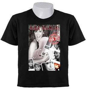 REBA McENTIRE TOUR 2012 COUNTRY MUSIC concert T SHIRTS