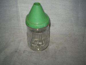 Measuring Device,2089,Glass/Green Top,Sugar Dispenser