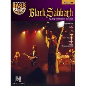 Black Sabbath   Bass Play Along Volume 26   Book and CD Package   TAB