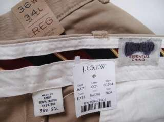 crew Essencial Chin in Bootcut Fit British Khaki 36w 24l