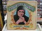 Johnny Cash Country Music vinyl LP 1981 Time Life Recor