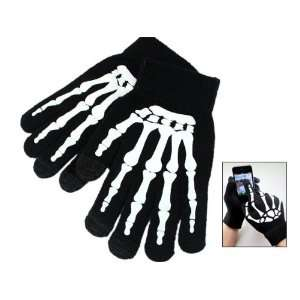Skeleton Winter Touch Screen Smart Gloves for iPhone