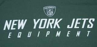 New York Jets NFL Equipment Dri Fit Shirt Sz XX Large