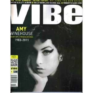 VIBE Magazine (8 11) AMY WINEHOUSE Death of a Troubled