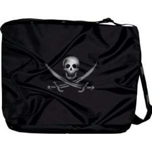 Rikki KnightTM Pirate Flag Messenger Bag   Book Bag