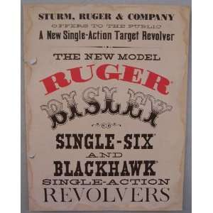 new single action target revolver Ruger & Company Inc. Sturm Books