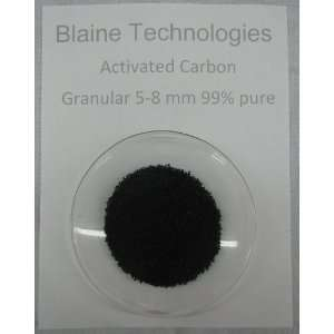 Activated Carbon; 99% pure; 0.5lb
