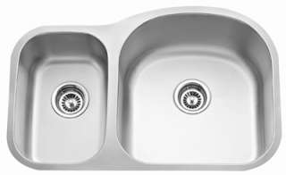 Stainless Steel Sink Kitchen Undermount Double 16G 3070