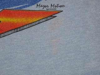 vintage 70s CALIFORNIA SURF T Shirt MEDIUM beach skate neon tourist