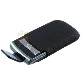 For BlackBerry Torch 9800 9810 OEM Leather Swivel Holster Original