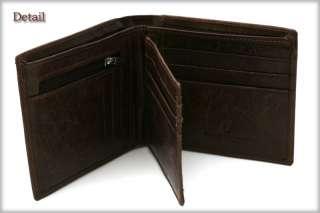 Bulls Mark Mens Genuine Leather Wallet Purse MJ3222