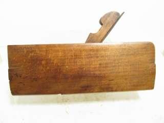 ANTIQUE WOOD MOLDING PLANE LARGE ROUND PROFILE 1832 SPRINGFIELD MASS