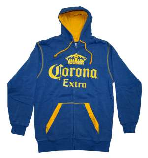 Corona Extra Crown Logo Beer Alcohol Adult Hoodie Hooded Sweatshirt