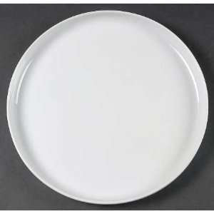 Dansk Arabesque White Dinner Plate, Fine China Dinnerware