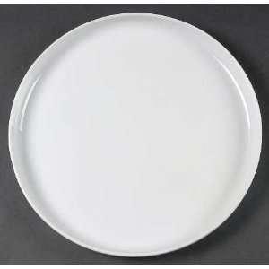 Dansk Arabesque White Dinner Plate, Fine China Dinnerware