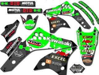 450 GRAPHICS KAWASAKI KX450F KX F 450F DECO DECALS STICKERS MOTO BIKE