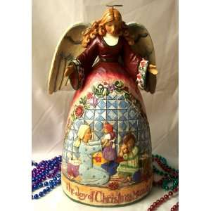 ENESCO Jim Shore Angel Christmas Morning Home & Kitchen