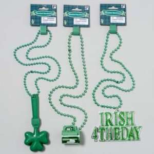 St. Patricks Bead Necklace Case Pack 48   915327 Patio