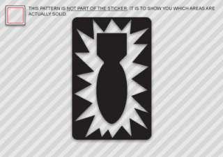52ND ORDNANCE GROUP Sticker Decal Die Cut eod