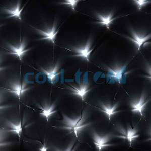 5x1.5m White 120 LED Net Fairy Lights Lamp for Party Christmas