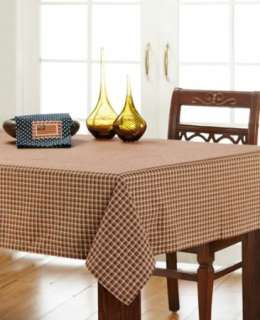 Rustic Red Tan Black Patriotic Patch Plaid Table Cloth 60x80 in