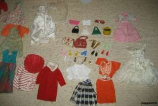 Ideal 1960s Vintage Mitzi Doll, Case, Clothes, & Accessories, NICE