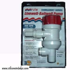 Water to Air Intercooler Radiator Pump, Rule 401FC