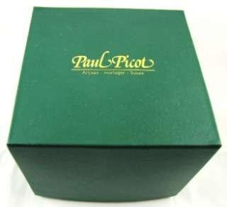 Paul Picot Firshire 3000 Retrograde 773 SG Black   RETAIL $6930