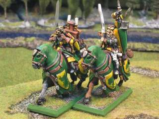 Warhammer DPS painted Bretonnian Questing Knights BR011