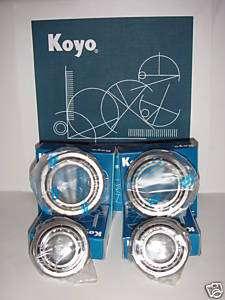 KOYO Toyota Tacoma 2WD Front Wheel Bearings 95 04