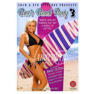 Brees Beach Party 3 (Adam & Eve) Bree Olson Toys & Games