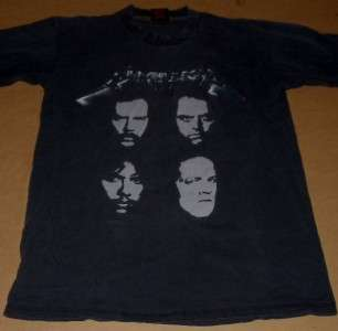 sandman CONCERT tour SHIRT large L medium M 1991 black FACES 90s