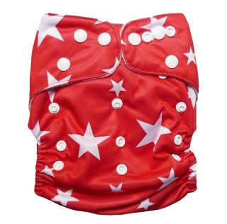 AIO RE USABLE baby cloth diapers nappies 1 insert E11