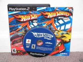HOT WHEELS BEAT THAT CIB   Playstation 2 PS2 047875754270