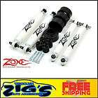 zone offroad 2 lift kit coil spring spacer w nitro
