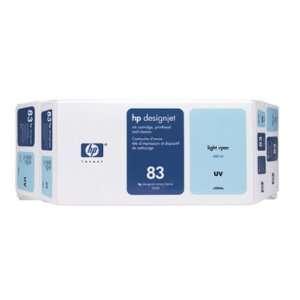 HEWLETT PACKARD 83 Light Cyan UV Value Pack 680ml Ink