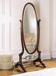 Powell Heirloom Cherry Cheval Mirror 998 773