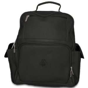 NCAA Tide Black Leather Large Computer Backpack  Sports