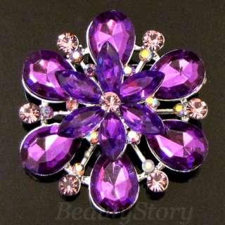 ADDL Item  Austrian rhinestone crystal flower bouquet