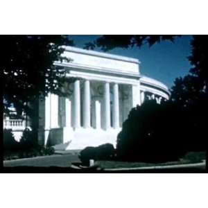 Vintage 1946 Washington DC Tourism Film DVD: District of