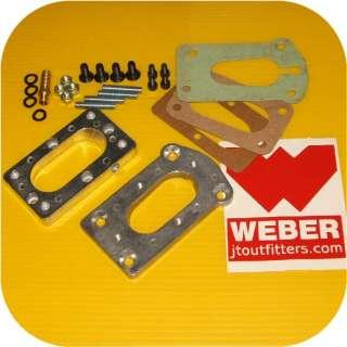 Weber Carb Manifold Adapter Honda Civic Accord CVCC 12V