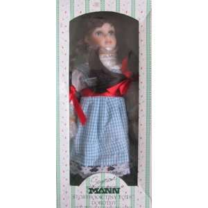DOROTHY Doll   Hand Painted Porcelain LIMITED EDITION Story Book Tiny