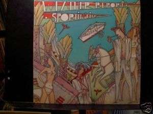 WEATHER REPORT Sportin Life LP 1985 NICE