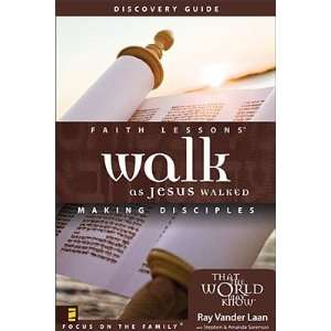 Walk as Jesus Walked Making Disciples Discovery Guide [WALK AS JESUS