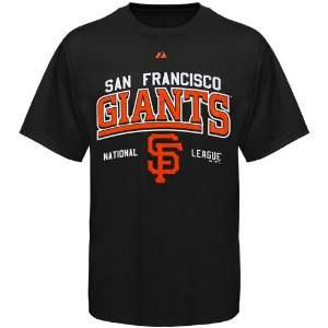 San Francisco Giants Black Built Legacy T shirt