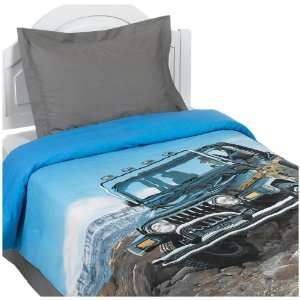 Jeep Off Road Comforter Set:  Home & Kitchen