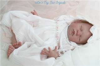 OOAK CUSTOM Reborn Baby Doll from Sugar Kit by D. Rubert, MRMH, GHSP
