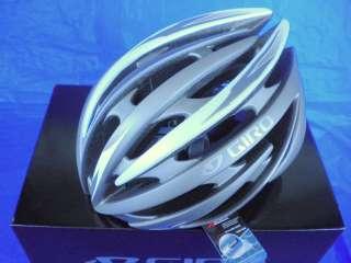 NEW 2012 GIRO AEON CYCLING HELMET MATTE TITANIUM SILVER LARGE