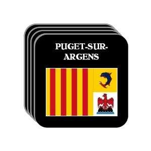 Provence Alpes Cote dAzur   PUGET SUR ARGENS Set of 4 Mini Mousepad