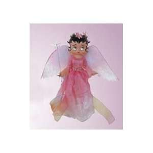 Betty Boop Angel In Pink Dress Christmas Ornament #8097